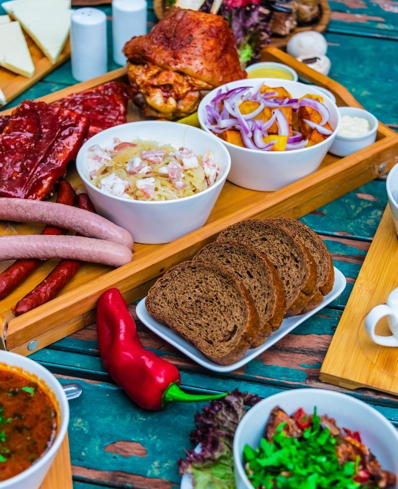 georgian food in tbilisi