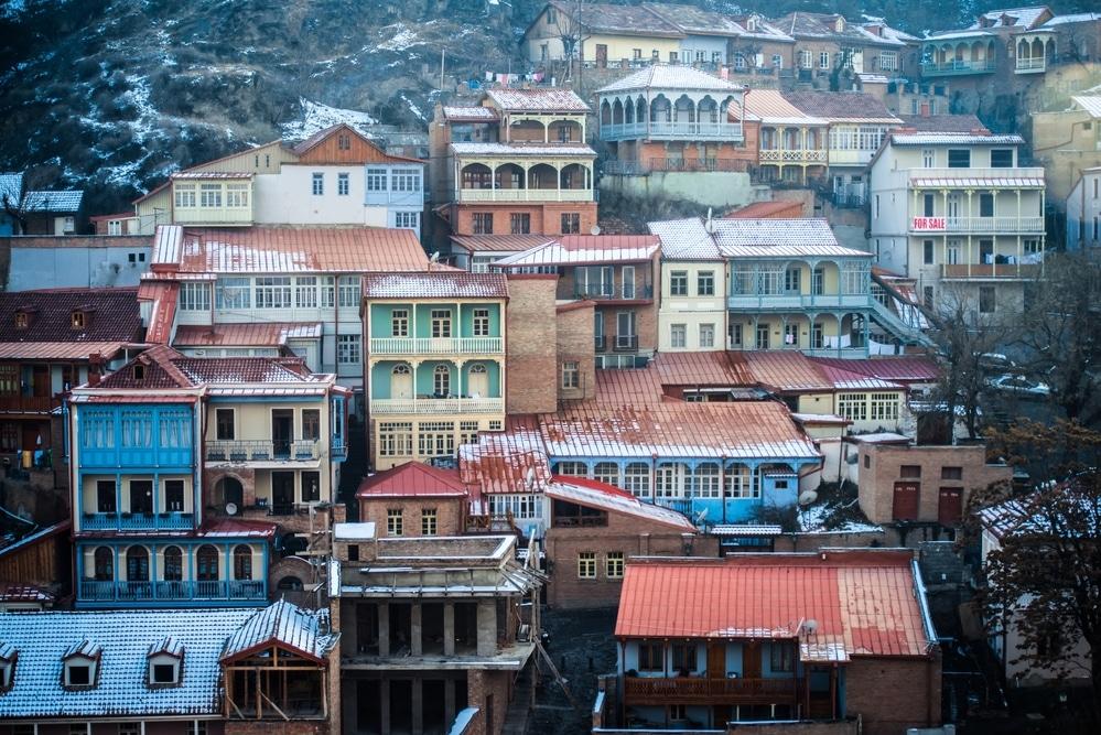 winter in Tbilisi georgia