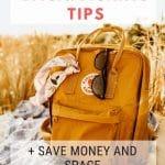 Minimalist Backpacking Tips