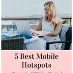 mobile hotspots for digital nomads