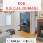 Accommodation for digital nomads
