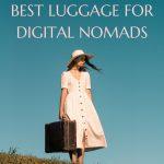 beautiful luggage for digital nomads